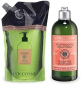 L'Occitane Aromachologie Repairing Shampoo 300ml & Eco-Refill Duo