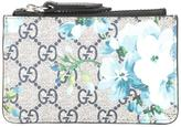 Gucci GG Blooms zip pouch - men - Polyurethane - One Size