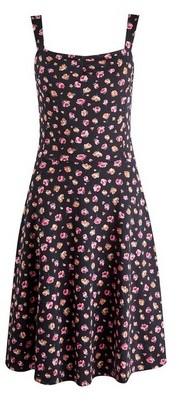 Dorothy Perkins Womens **Dp Tall Black Ruched Dress, Black