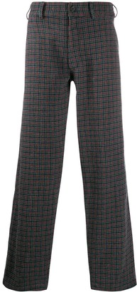 Comme des Garcons Houndstooth Straight Trousers