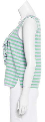 See by Chloe Striped Sleeveless Top