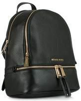 Michael Kors Leather Zip Back Pack