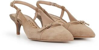 Denia Slingback Kitten Heel