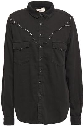 BA&SH Studded Cotton Shirt