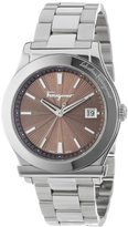 "Salvatore Ferragamo Men's FF3050013 ""1898"" Stainless Steel Watch"