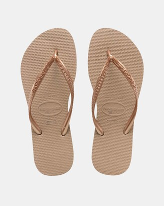 Havaianas Women's Pink All thongs Slim - Women's - Size 35/36 at The Iconic