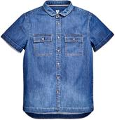 Very Boys Short Sleeve Chambray Shirt