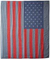D&Y Women's American Flag Oblong Scarf