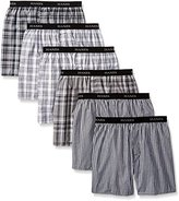 Hanes Men's Classics Exposed Waistband Boxer Bonus Pack