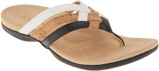 Spenco Orthotic Triple Strap Thong Sandals - Trinity
