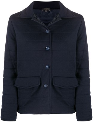 N.Peal Reversible Quilted Field Jacket