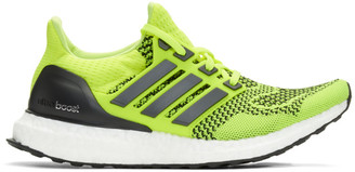 adidas Yellow and Black UltraBOOST Sneakers