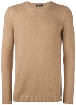 Roberto Collina cable knit crew neck jumper