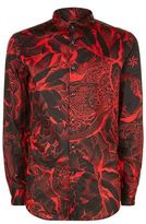 Just Cavalli Kimono Floral Print Shirt