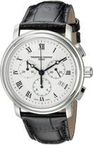 Frederique Constant Ferique Constant Men's FC292MC4P6 Persuasion Strap Chronograph Dial Watch