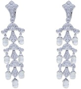 Cartier Diamond Platinum Earrings