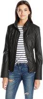 Celebrity Pink CelebrityPink Juniors Vegan Leather Moto Jacket