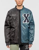 10.Deep Culture Clash Varsity Jacket