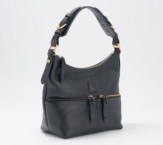 Dooney & Bourke Florentine Leather Small Zipper Pocket Sac
