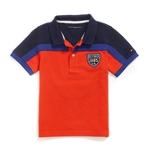 Tommy Hilfiger Final Sale- Colorblocked Crested Polo