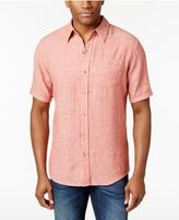 Weatherproof Vintage Men's Linen Short-Sleeve Shirt
