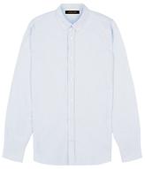 Jaeger Oxford Stripe Shirt, Blue