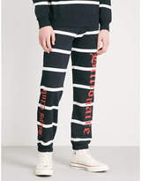 Billionaire Boys Club Alpha Omega cotton-jersey jogging bottoms