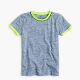 J.Crew Boys' heathered piped ringer T-shirt