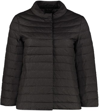 ADD Embossed Techno Fabric Down Jacket