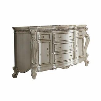 FC Design Vintage Dresser In Antique Pearl Finish