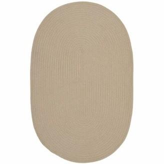 "Safavieh Oval Winding Handmade Braided Brown Area Rug Rug Size: Oval 1'8"" x 2'10"""