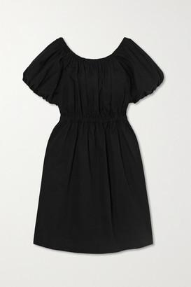 Molly Goddard Honey Cotton Mini Dress