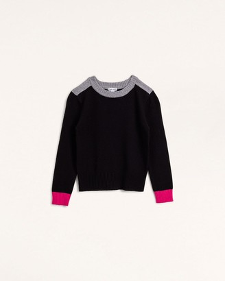 Splendid Girls Tri Color Sweater