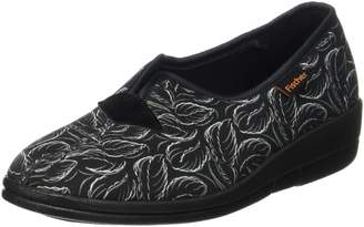 Fischer Women's Dora Low-Top Slippers Black (Schwarzbunt 229) 4.5 UK
