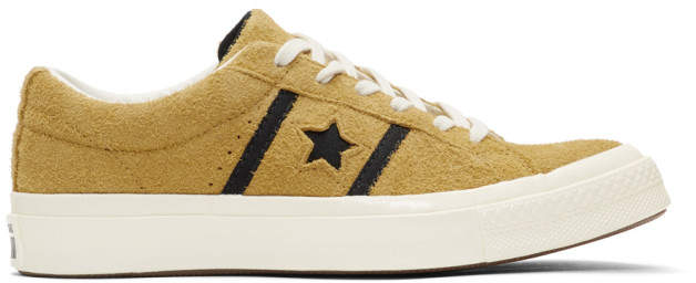 Converse Yellow Suede One Star Academy Sneakers