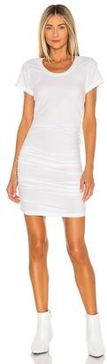 Bobi Draped Modal Jersey Dress
