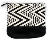 Colorblind Patterns Vegan Cosmetics Pouch