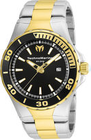 Technomarine TECHNO MARINE Techno Marine Mens Two Tone Bracelet Watch-Tm-215058