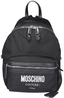 Moschino Plaque Backpack