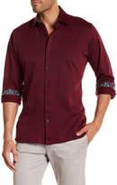 Jared Lang Solid Trim Fit Shirt