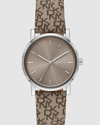 DKNY Soho Brown Analogue Watch