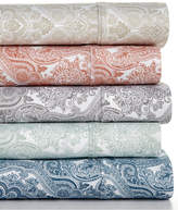 Sunham LAST ACT! Caprice Paisley 4-Pc Sheet Sets, 350 Thread Count, Created for Macy's