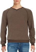 Tommy Bahama Make Mine a Double Reversible V-Neck Sweater