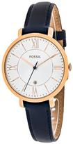 Fossil Jacqueline ES3843 Women's Rose Goldtone Stainless Steel Watch