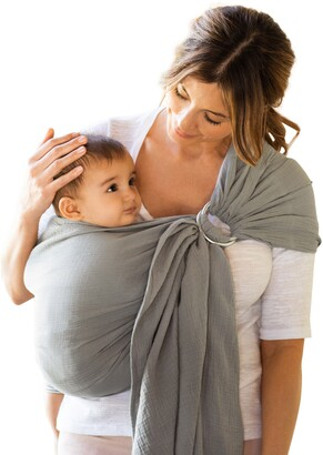 MOBY Ring Sling Double Gauze Baby Carrier