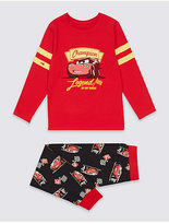 Marks and Spencer Disney Cars Cotton Pyjamas with Stretch (1-8 Years)