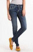 Vigoss Skinny White Stitch Jeans