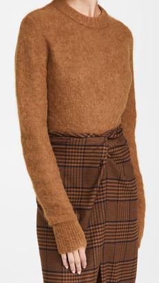 Helmut Lang Shrunken Crew Sweater