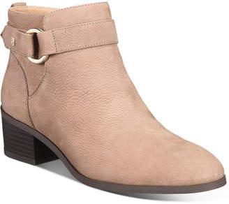 Giani Bernini Putneyy Memory Foam Block-Heel Booties, Women Shoes
