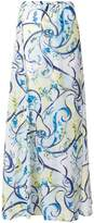 Emilio Pucci floral print skirt